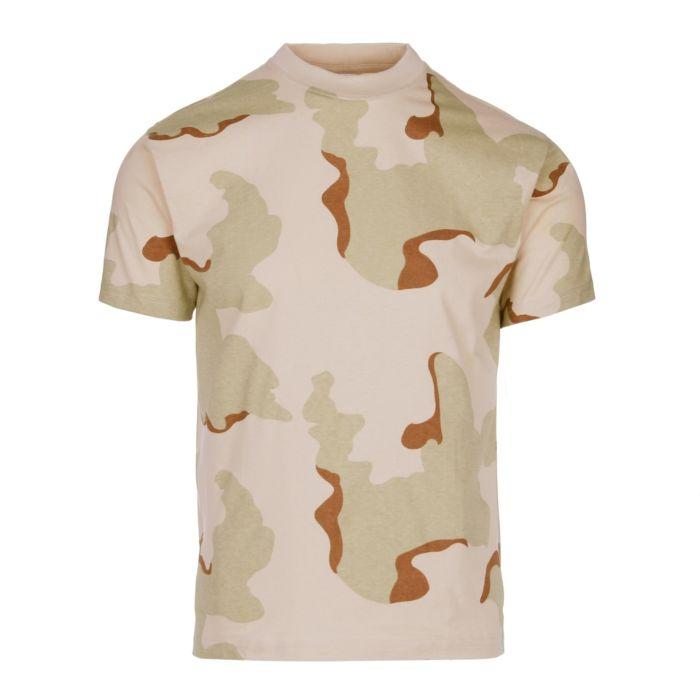 Fostee camouflage t-shirt 3-color desert camo