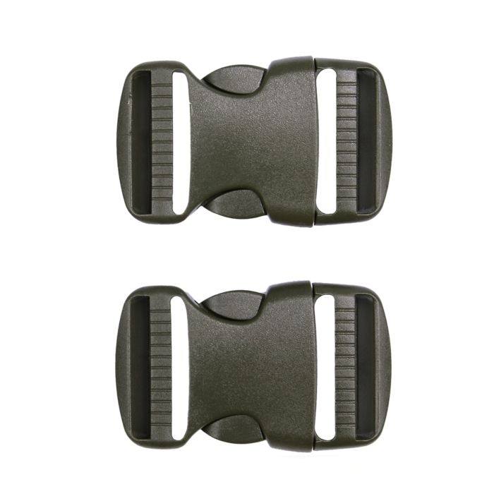 101inc Spare Buckle 38mm 2st. Ranger Green