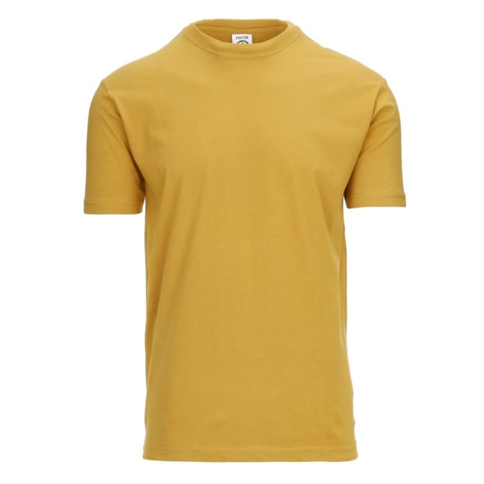 Fostex T-shirt Fostee plain mosterd