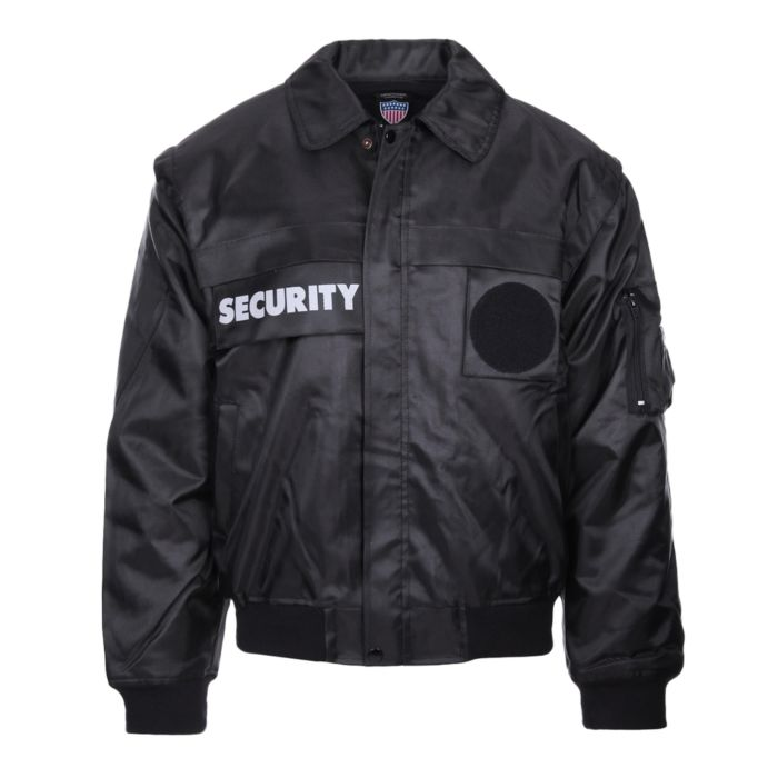 Fostex security jack met afritsbare mouwen zwart