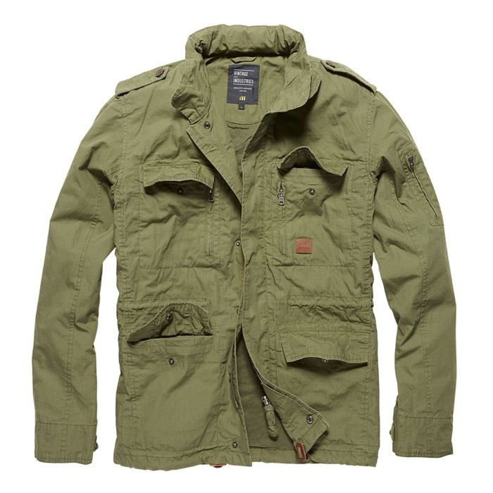 Vintage Industries Cranford Jacket olive
