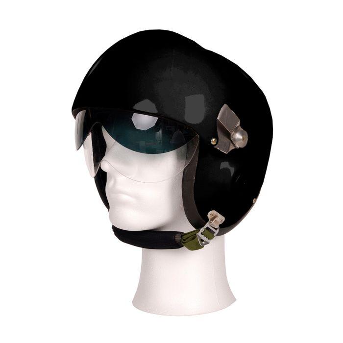 Piloten helm MIG dubbel vizier zwart