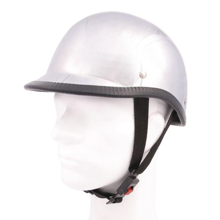 Biker helm hawk chroom