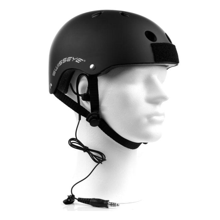 Swiss Eye Training Helmet zwart