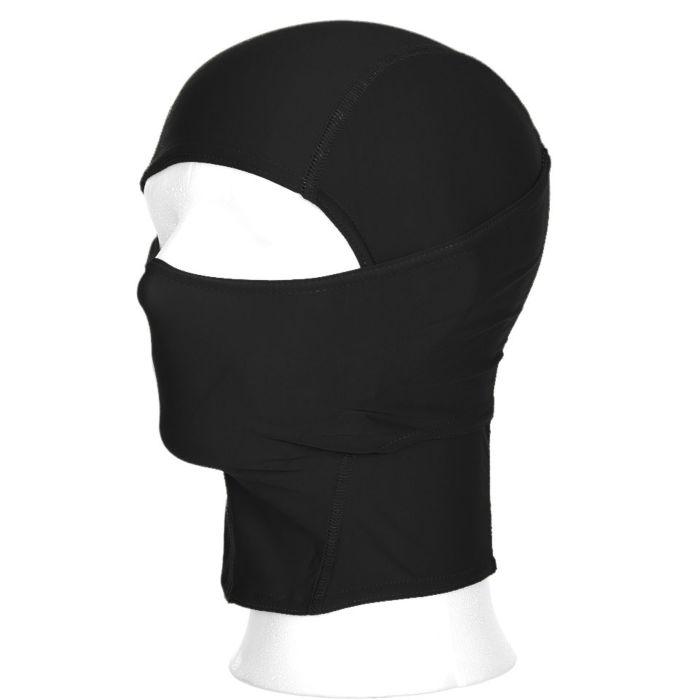 Bivakmuts Ninja 1 gat zwart