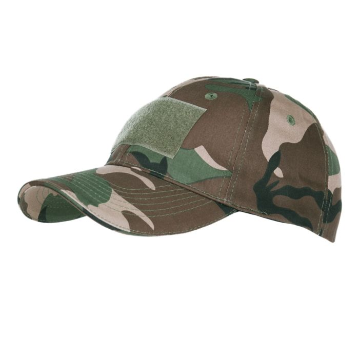 101inc Baseball cap Contractor woodland camo