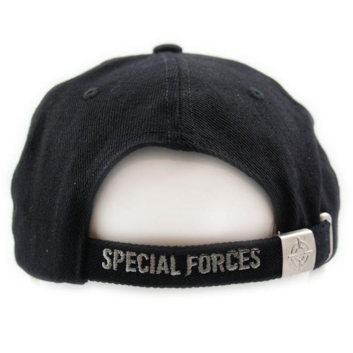 Cap Special Forces zwart