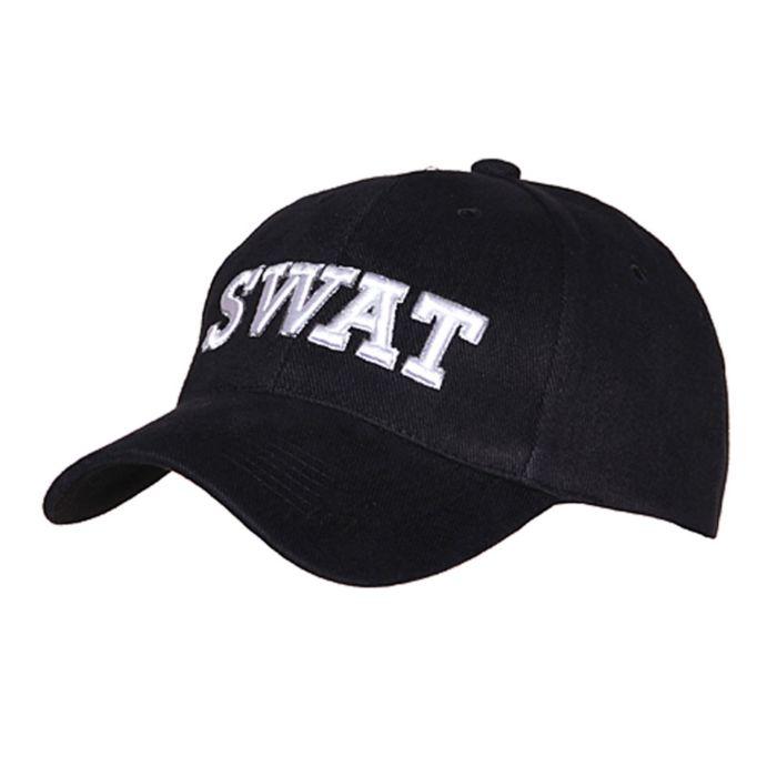 Cap SWAT zwart