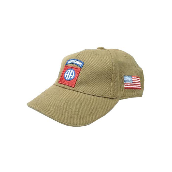 Fostex Baseball cap 82nd Airborne khaki