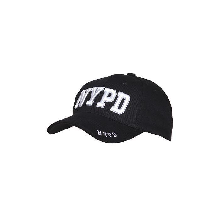 Fostex baseball cap NYPD zwart