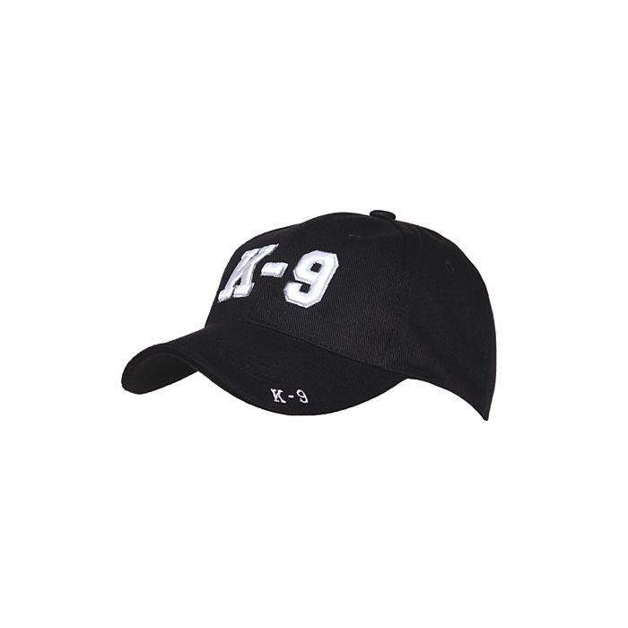Fostex baseball cap K-9 zwart