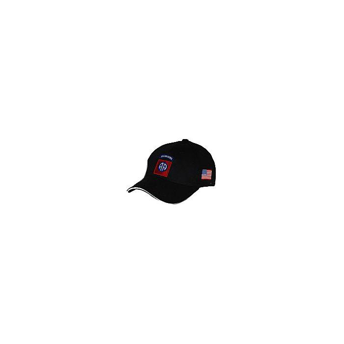 Fostex Baseball cap 82nd Airborne zwart