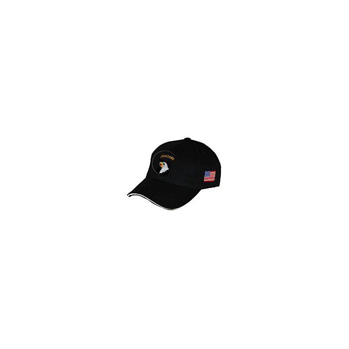 Cap 101st Airborne zwart