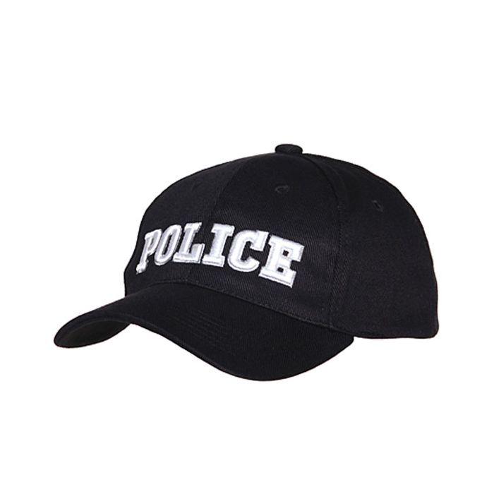 Fostex baseball cap Police zwart