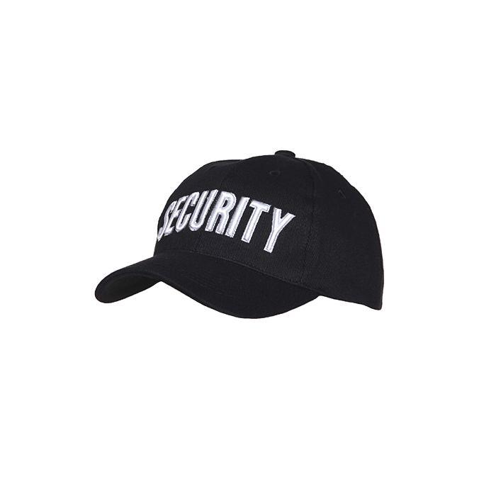 Baseball Cap Security zwart