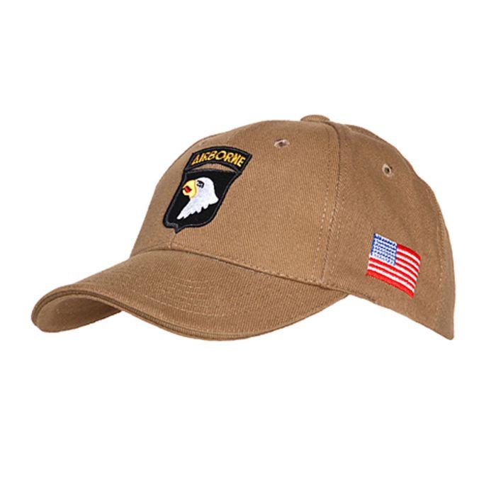 Cap 101st Airborne khaki
