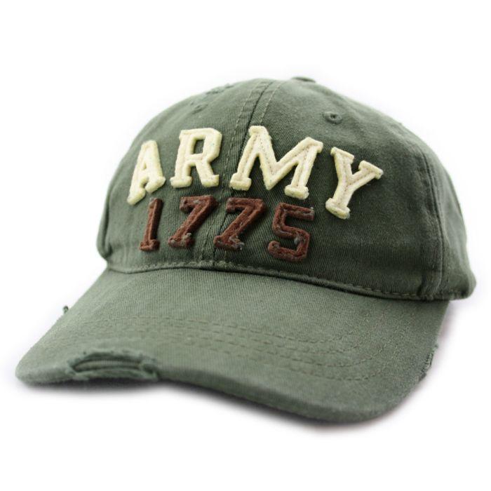 Fostex Cap stone washed ARMY groen