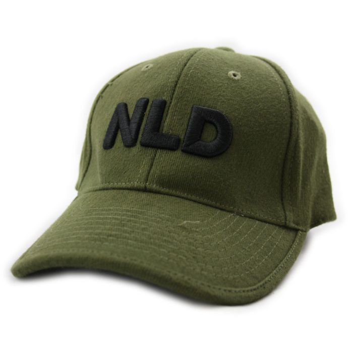 Baseball cap NLD groen