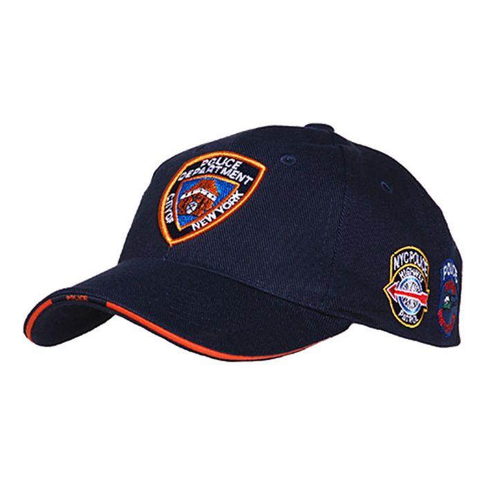 Fostex baseball cap NYPD donkerblauw