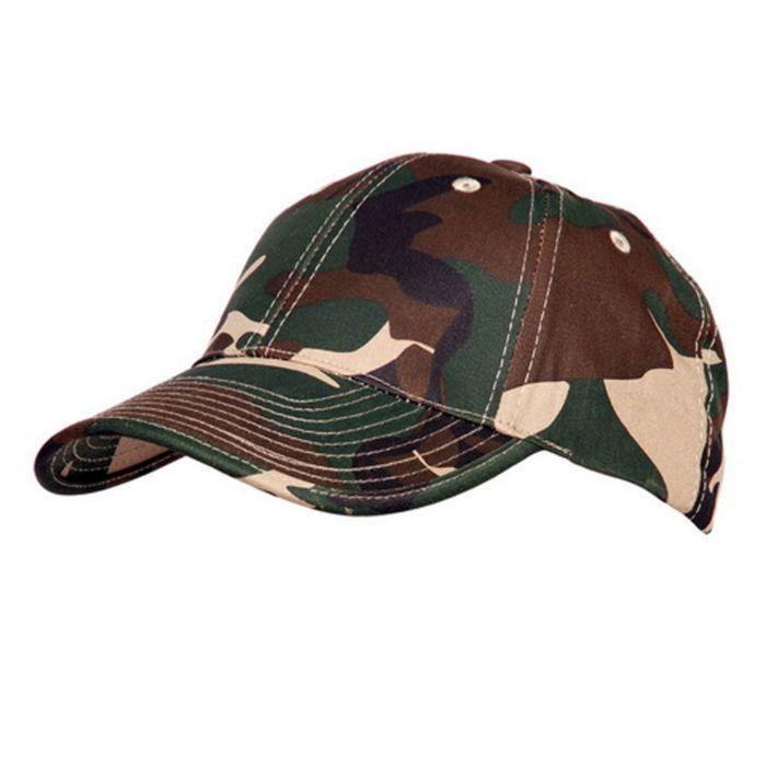 Fostex baseball cap flexfit woodland camo