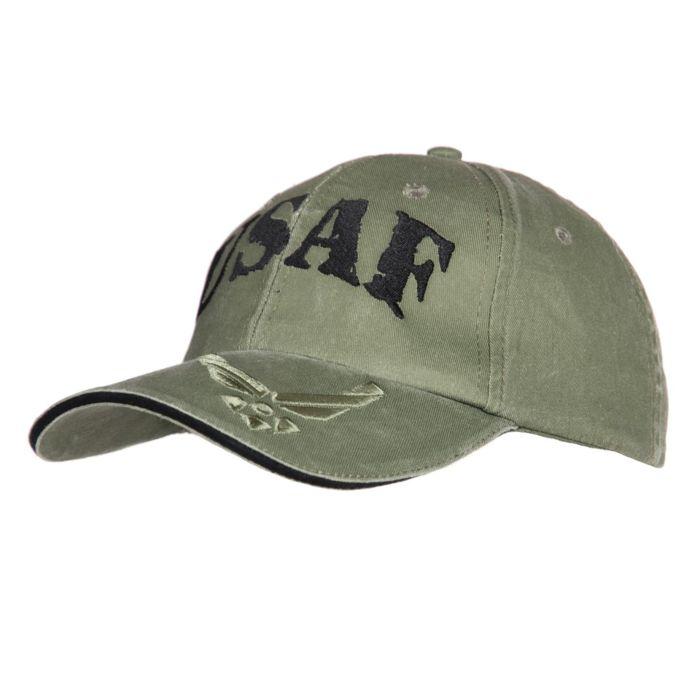 101inc Baseball cap USAF groen
