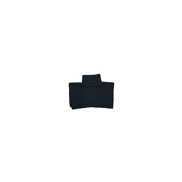 poloneck kolsjaal zwart