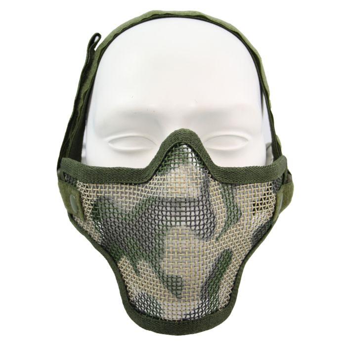 Fostex Airsoft beschermingsmasker woodland camo