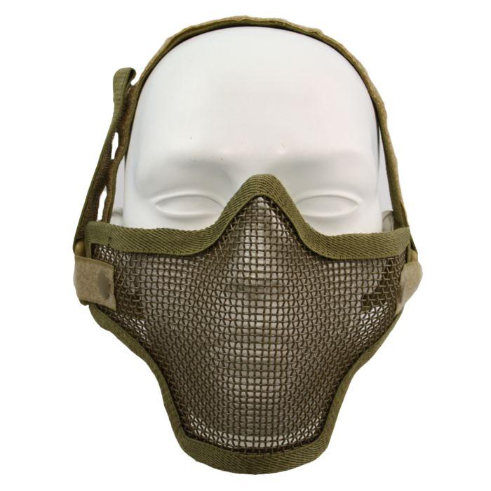 Fostex Airsoft beschermingsmasker khaki