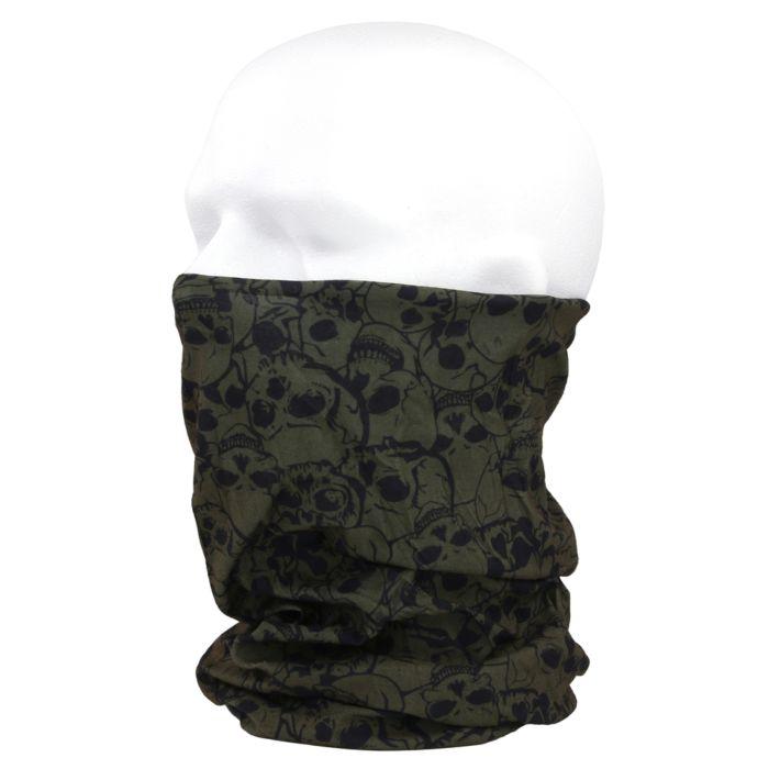 101inc Tactical Wrap Met Skull groen