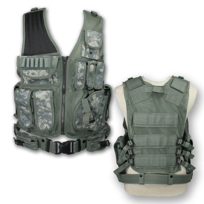 Tactical vest Predator digital ACU camo