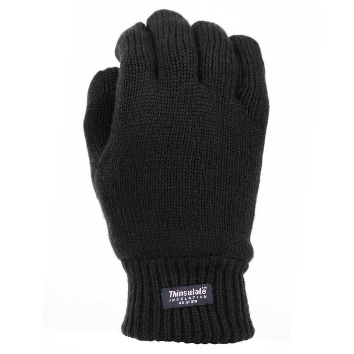Fostex handschoenen thinsulate zwart