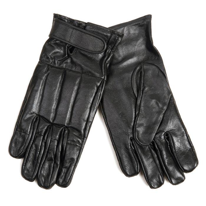 Fostex handschoenen met zand zwart leder