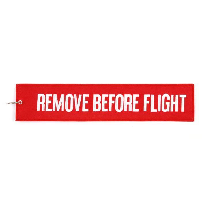 Sleutelhanger Remove Before Flight mega