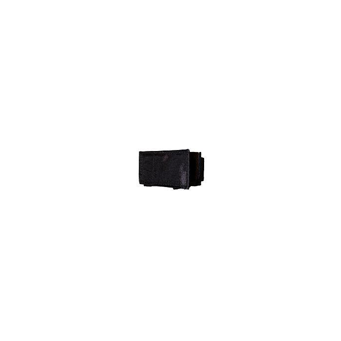 Horlogeband beschermhoes klittenband zwart