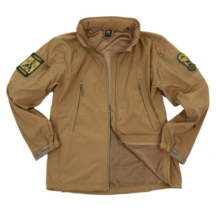 101inc Softshell Jack Tactical new version khaki