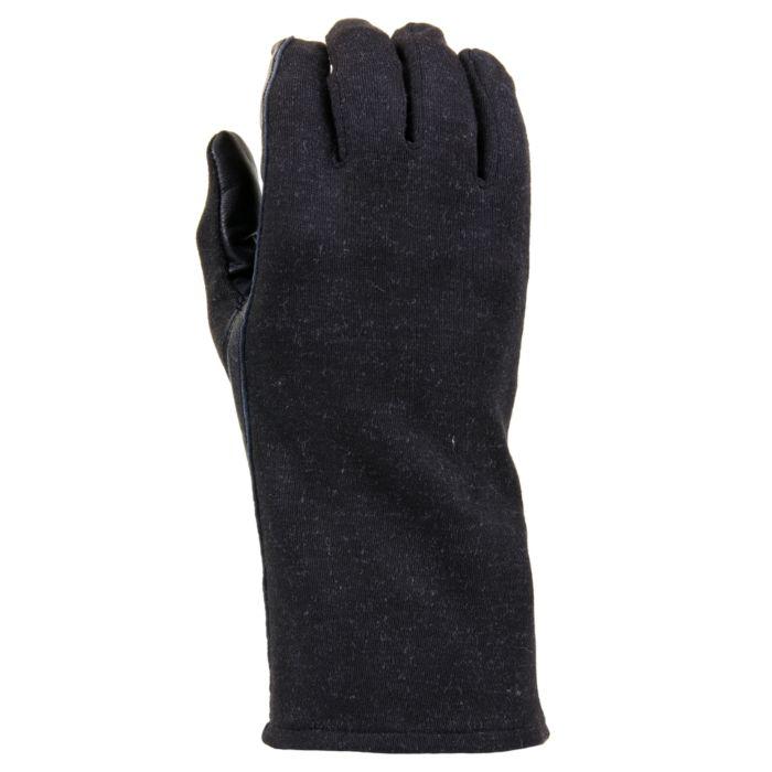 Nomex piloten handschoenen zwart
