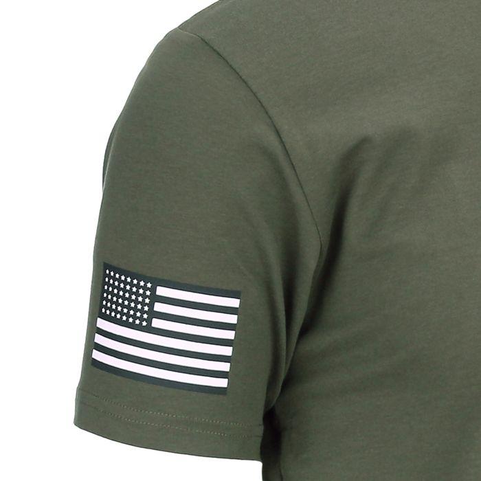 Fostex T-shirt USA 101st Airborne groen