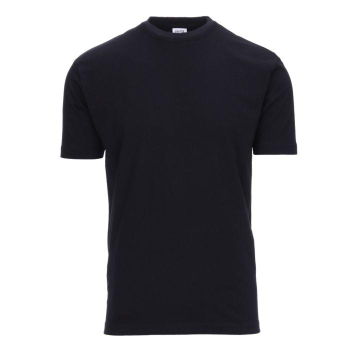 Fostex T-shirt Fostee plain zwart