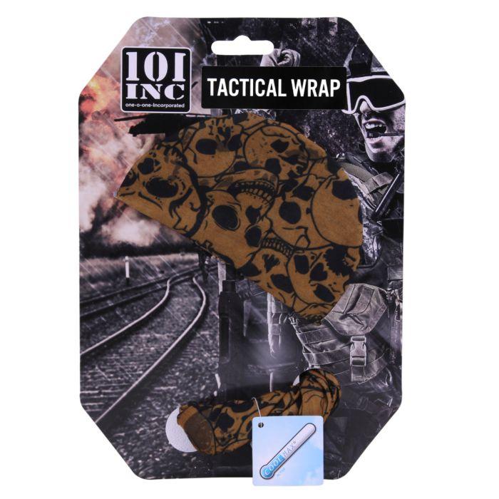 101inc Tactical Wrap Met Skull zwart