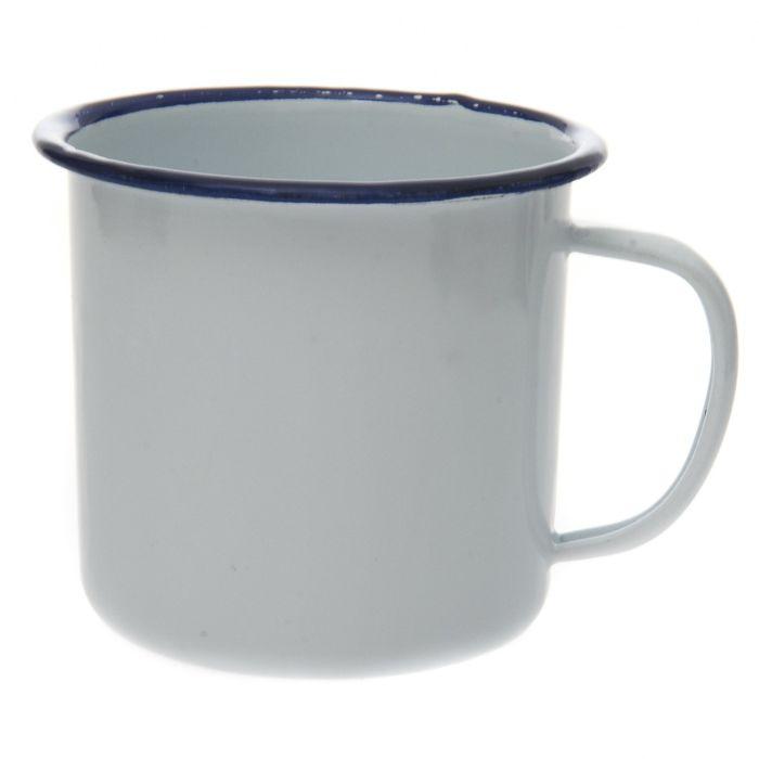 Emaille mok (drinkbeker)