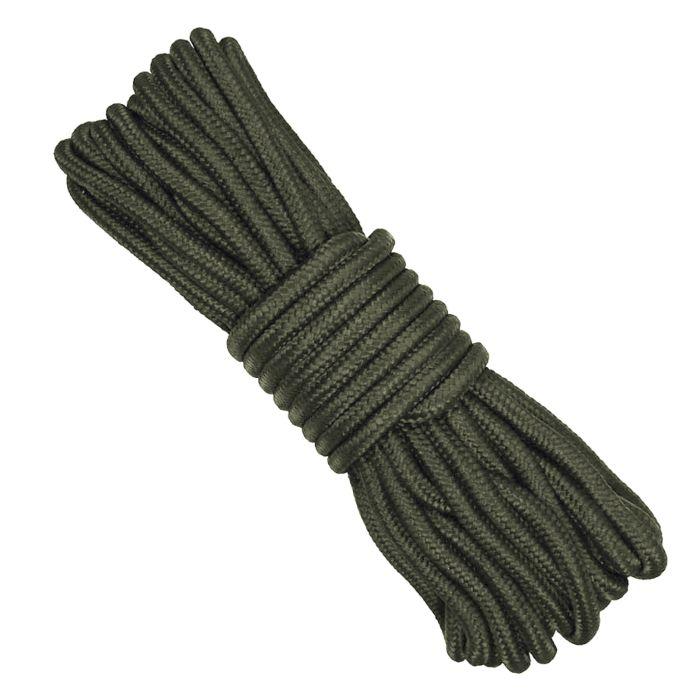 Bundel nylon touw 9mm/15mtr groen
