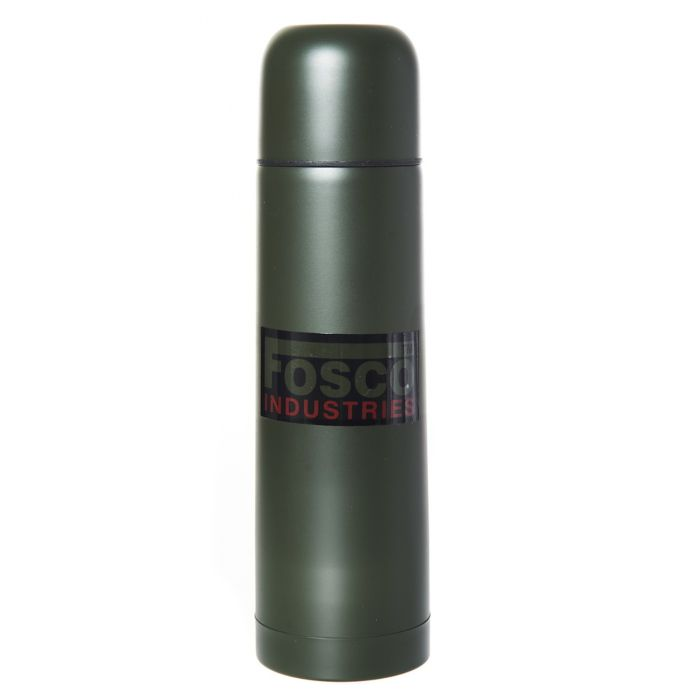 Fosco thermosfles 1 liter groen