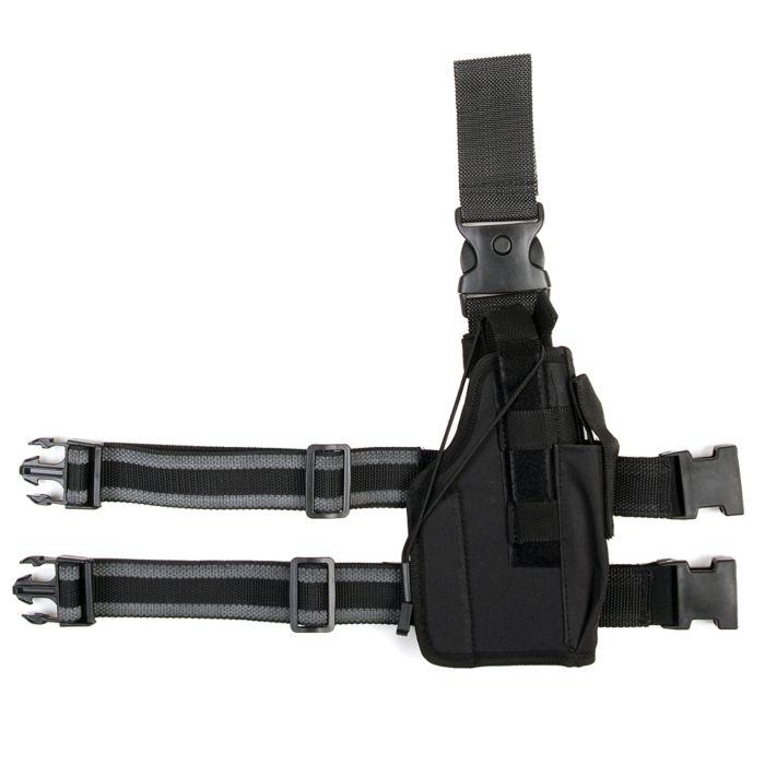 Stealth beenholster ultimate rechtshandig zwart