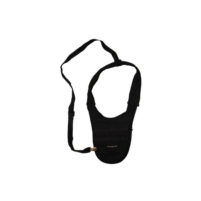 Schouderholster portemonnee zwart