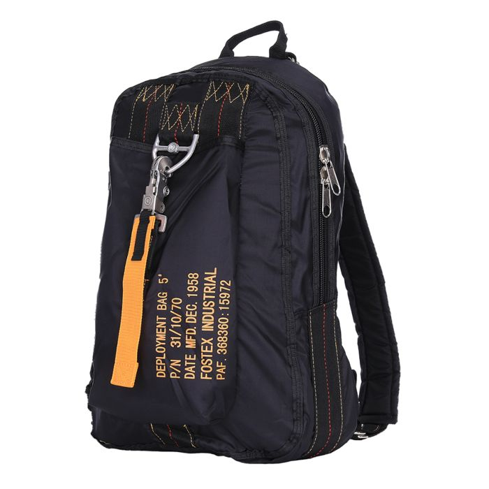 Fostex Parachute tas5/Rugtas groot zwart