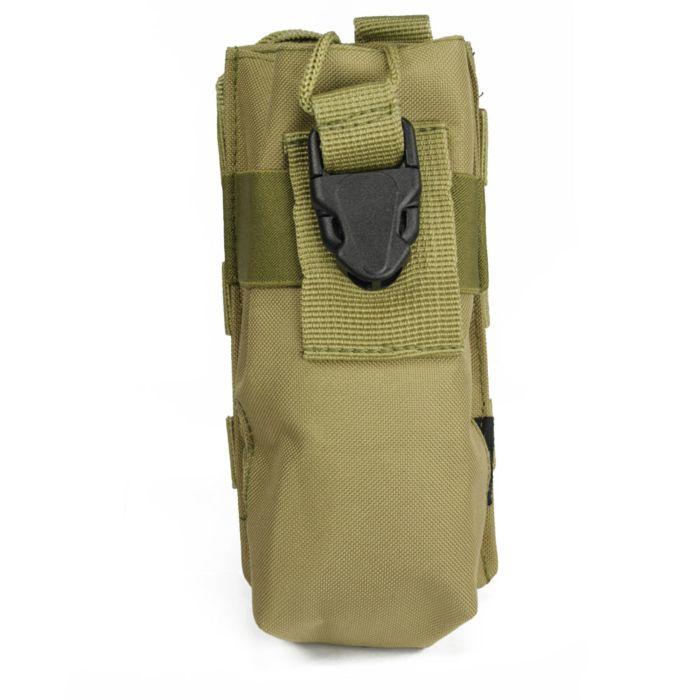 101Inc Molle pouch PMR groot Q khaki