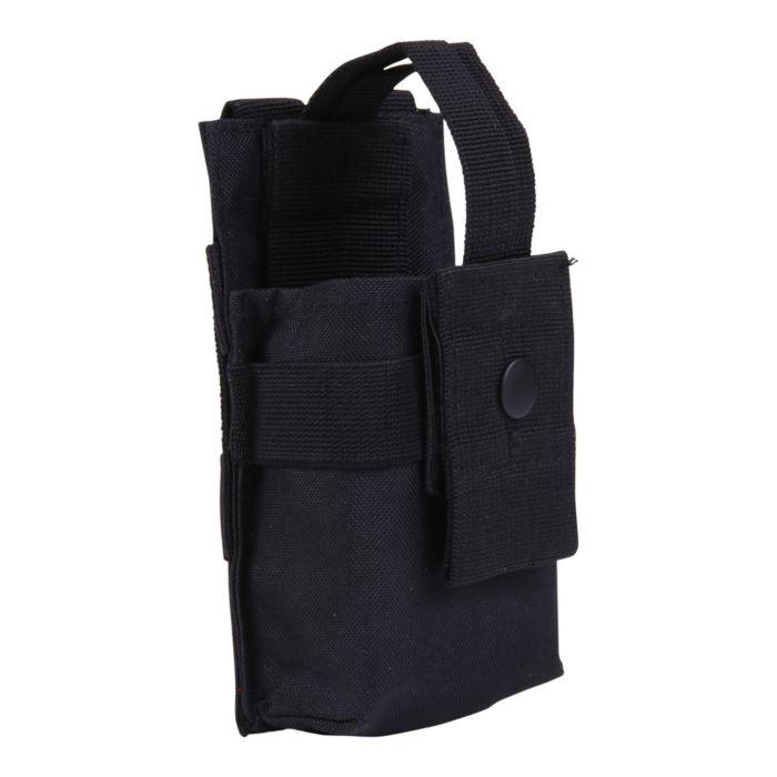 101Inc Molle pouch PMR klein O zwart