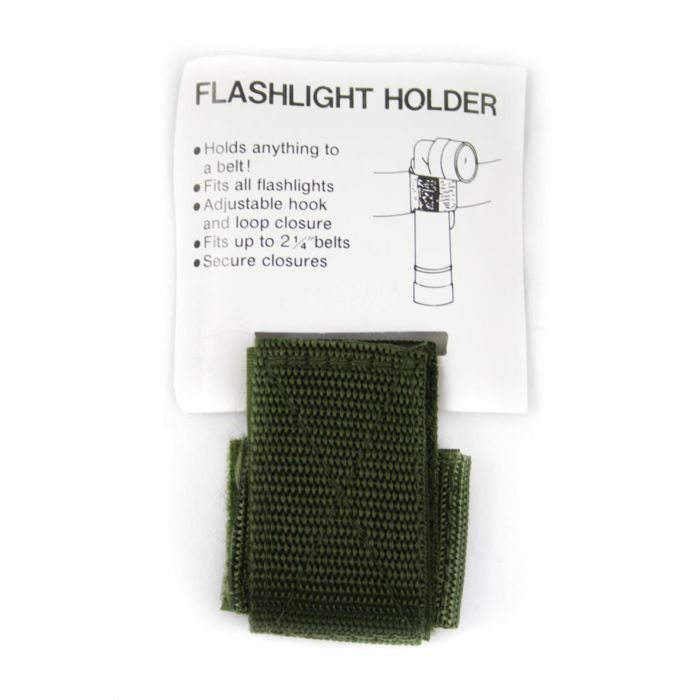Fosco hoeklamp houder klittenband groen