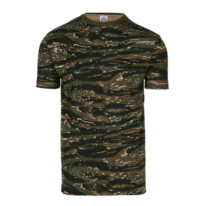 Fostee camouflage t-shirt tigerstripe camo