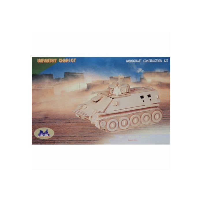 Houten bouwpakket Infantry Chariot tank